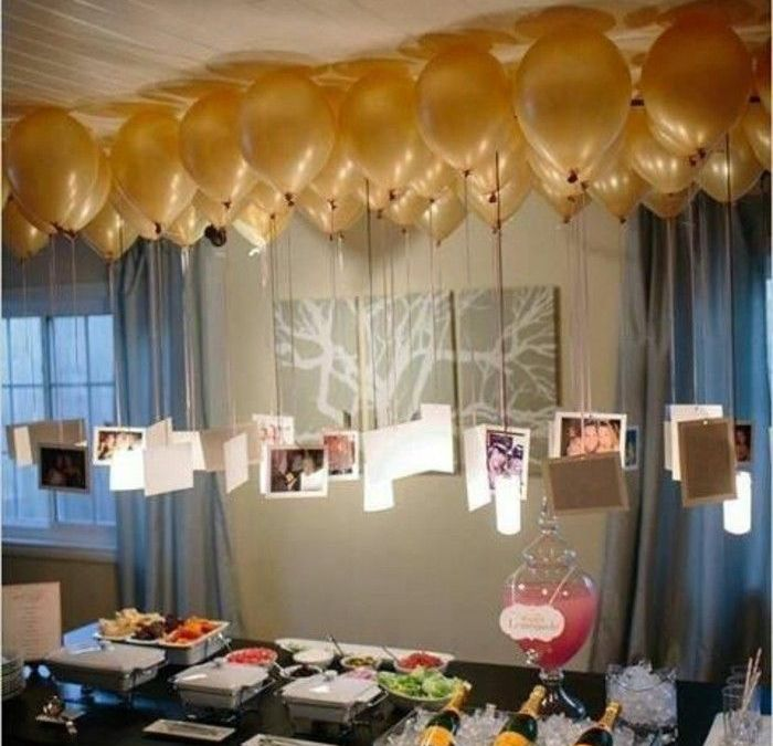 Sur Pinterest La décoration anniversaire adulte en 60 magnifiques photos!