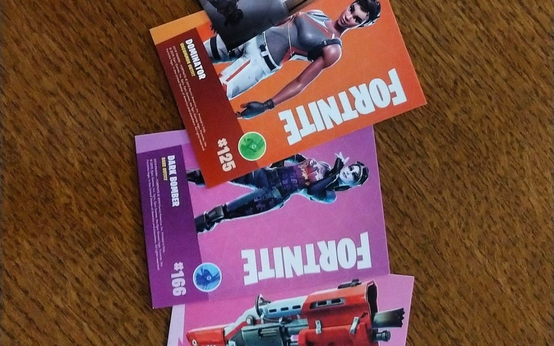 Collectible cards? :D hello? :D  #fortnite #fortnitecommunity  #collectorscards
