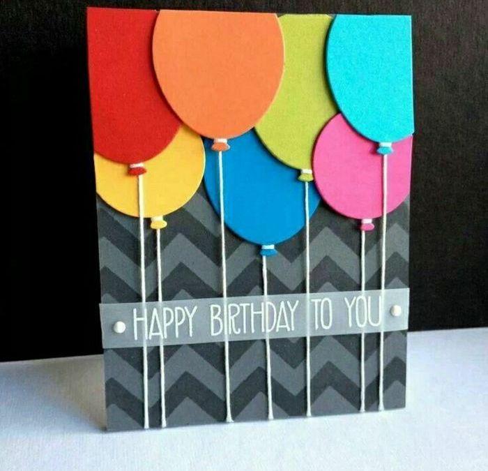 Sur Pinterest La plus jolie carte d'anniversaire en 52 variantes!