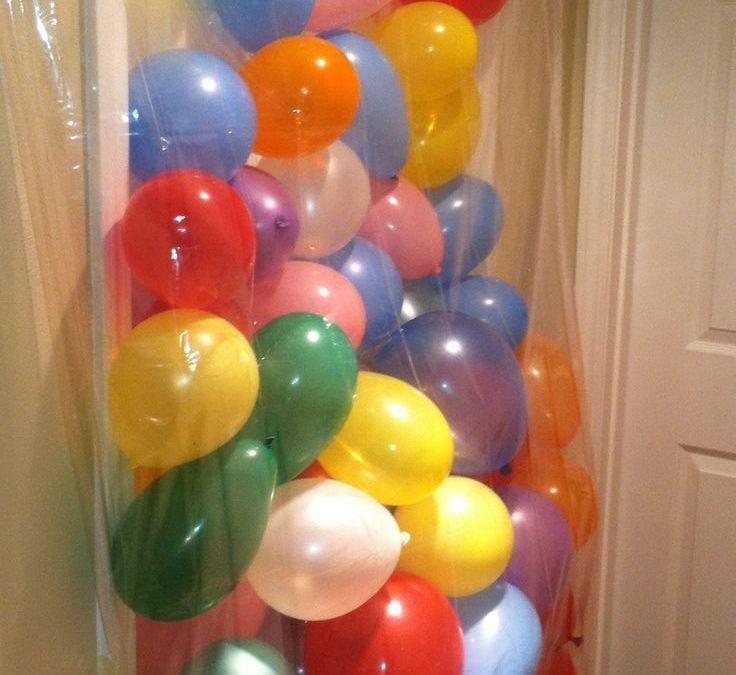 Sur Pinterest Activités & Tuto Enfant  : Anniversaire de ballon en avalanche :) Ce