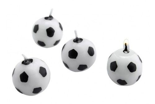 Sur Pinterest Bougies anniversaire ballons de football
