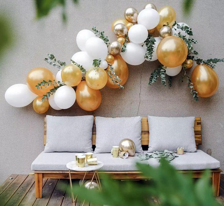 Sur Pinterest Kit arche ballon doré