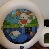 MamoMans: Dormir le matin, pour quoi faire? Test du Kid'sleep moon (+ concours inclus!)