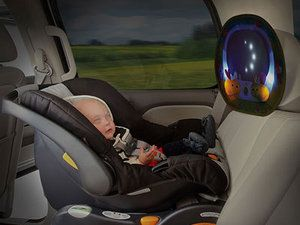 Miroir auto musical Munchkin