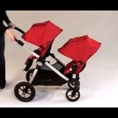 Baby Jogger City Select Tandem Video Demo from twins-store.co.uk