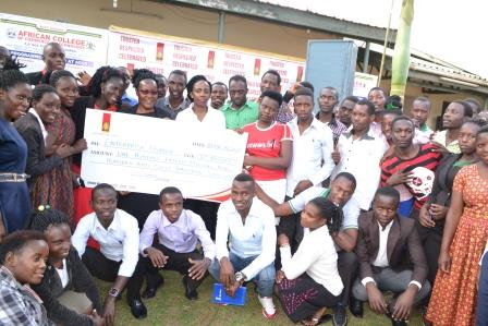 Uganda Breweries limited is sponsoring 20 of the students