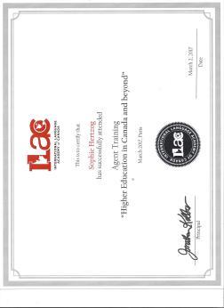Ilac certificat