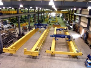 crane manufacturing facility EMH