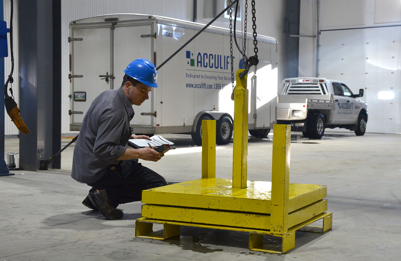 testing a crane for max capacity and operating limits