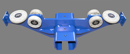 crane parts end truck from Gorbel