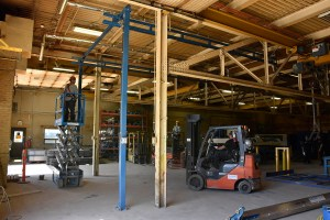 crane removal teardown safe work, relocation and moving of crane systems