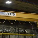 header beam crane for ag manufacturer