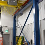 Columns 5 ton crane emh electrical festooning bridges