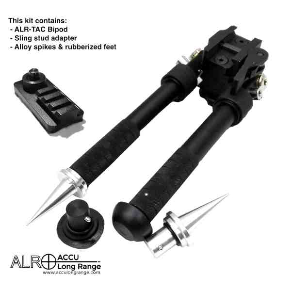 ACCU Long Range Bipod Sling Stud Picatinny style rail adapter