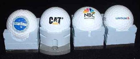 Industrial Products - Work piece carriers for golf ball printing