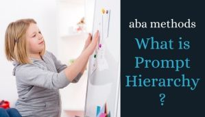 prompt hierarchy and aba therapy banner