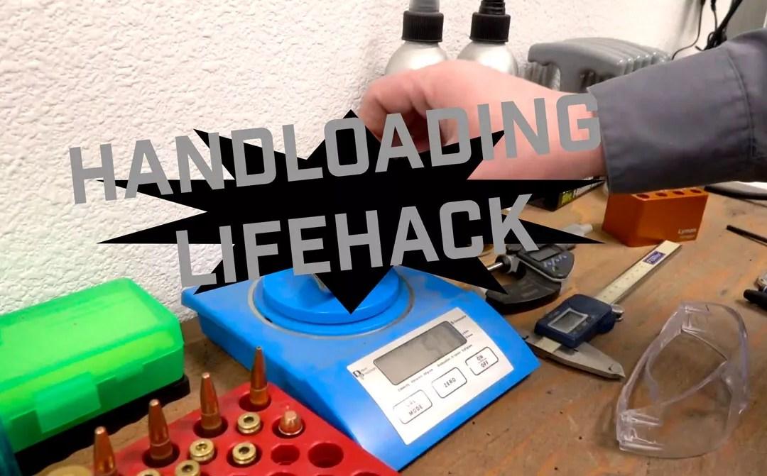 Powder Measure Reload Hack