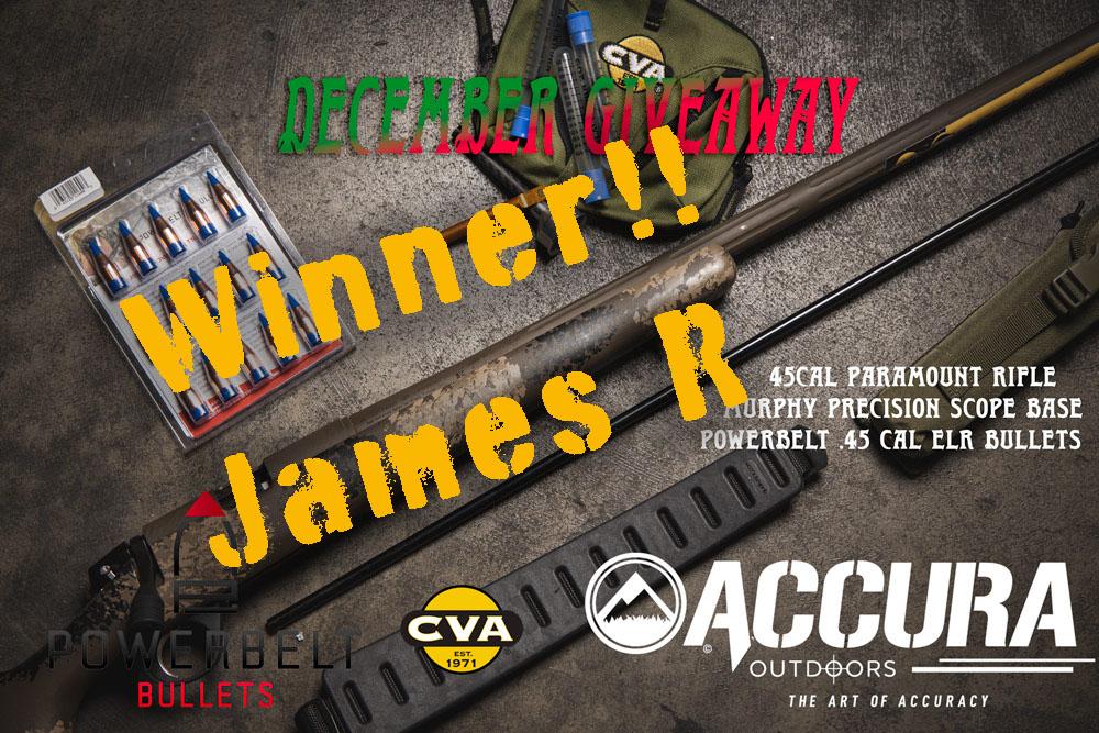 paramount-cva-powerbelt-accura-giveaway-winner