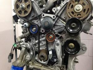 Honda V6 Engine Oil Leak Around the Timing Belt Area