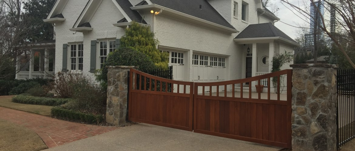Custom Wood And Access Control Accurate Fence Atlanta