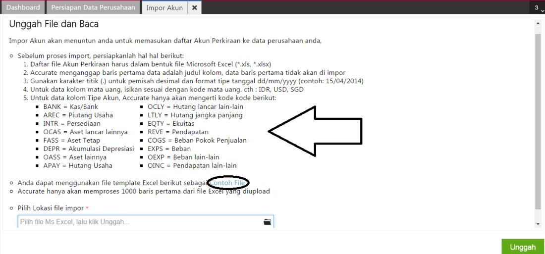 Impor Data Akun Pt Ultima Tekno Solusindo
