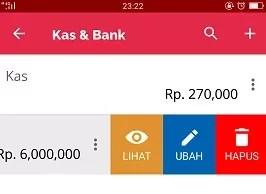 Ubah Saldo Awal Kas Bank Pada Accurate Lite 2