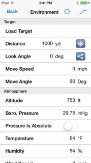 Applied Ballistics apple iphone ipad iOS app