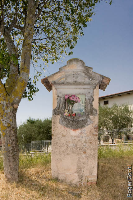 L'edicola della Madonna del Carmine