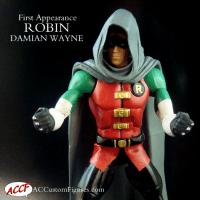 Damian Wayne Robin First Appearance
