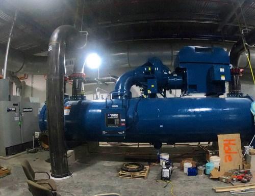Evacuation of a 2500 ton Centrifugal Chiller – AccuTools