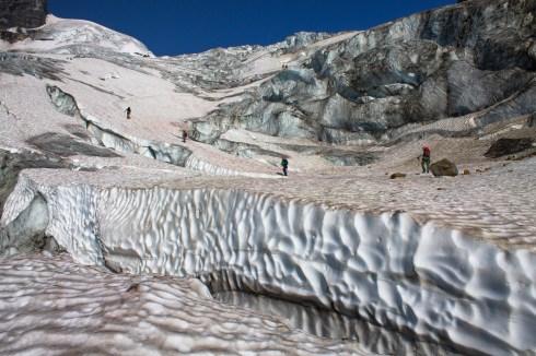 Natasha Salway - Riddle Me This glacier at the Mt. Hallam 2018 GMC