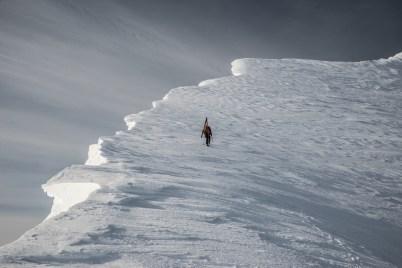 Winter Activity Honourable Mention: Matthew Breakey - Big Interiour Ridge