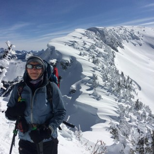 Sonia Langer: Peggy and the Namulten Ridge Cornice