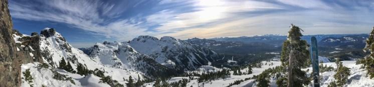 Skafti Sinclair - Mt Cain panorama