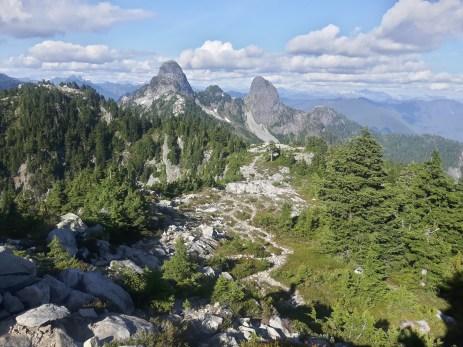 Tara Cadeau: Howe Sound Crest Trail
