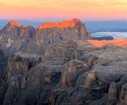 Honourable Mention - MS Category: Catrin Brown - Dolomite Sunrise