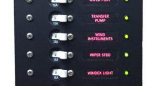 AC Marine Branch Circuit Breaker Instrument Panel