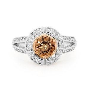 Brooklyn Beauty Chocolate Diamond Ring