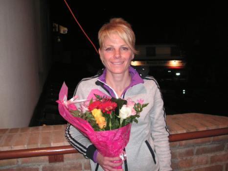 Julie vainqueur du 13 kms