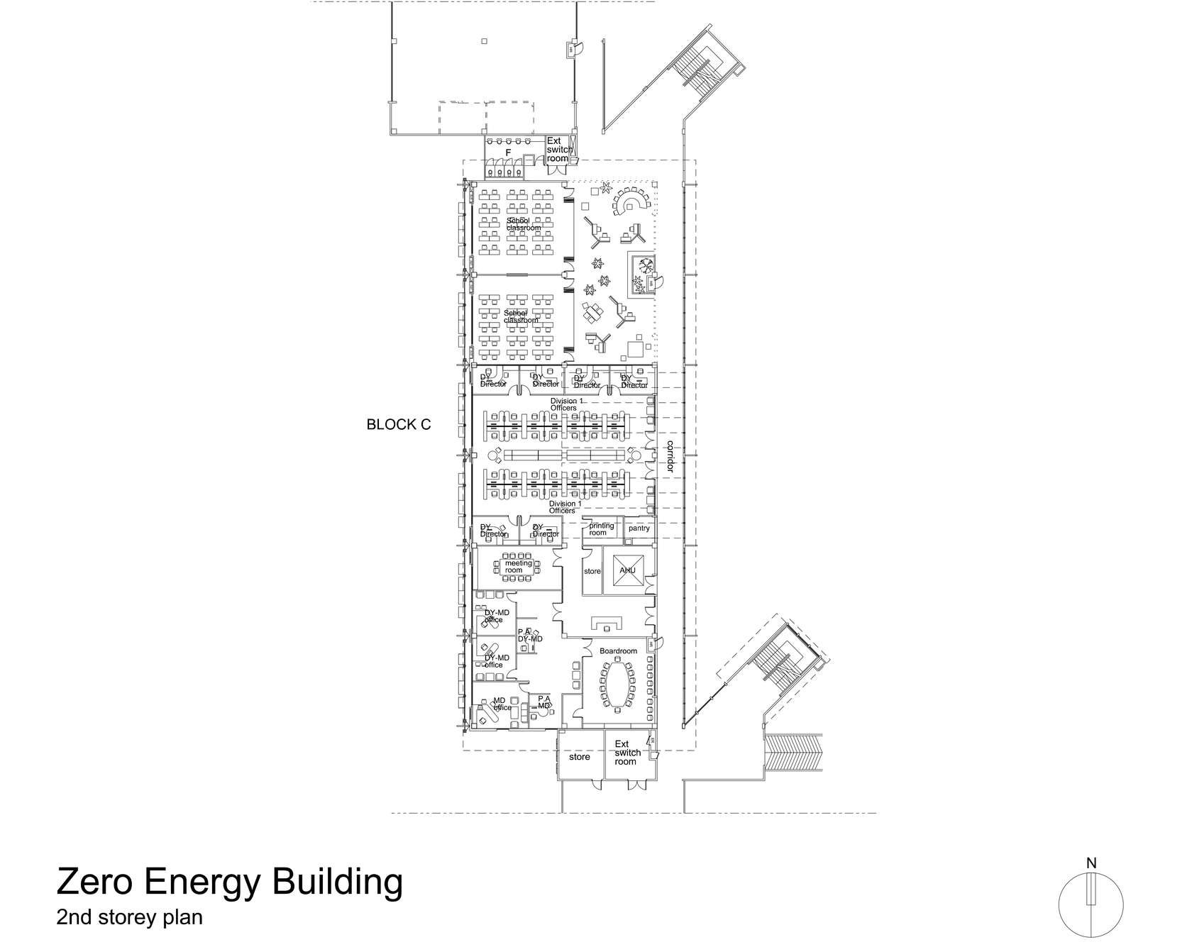 Zero Energy Building At Bca Academy