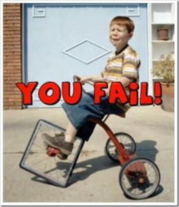 Bicycle-Fail