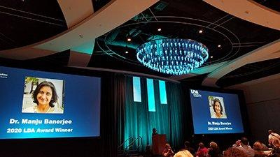 The Learning Disabilities Association of America Honors Dr. Manju Banerjee of Landmark College