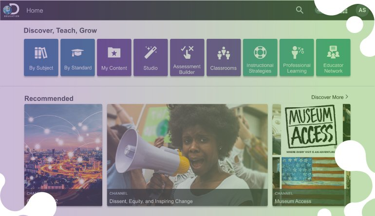 New Update to Discovery Education Experience Will Help Save Educators' Time