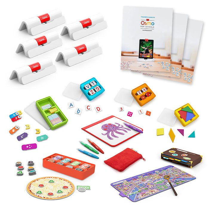 Osmo for Schools Supplies Cincinnati School District with Learning Systems for Pre-K to Grade 12 Specialized Learning Units