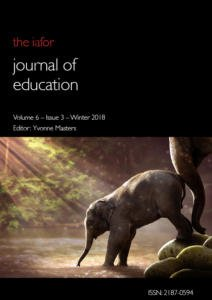 IAFOR-Journal-of-Education-Volume-6-Issue-3-cover