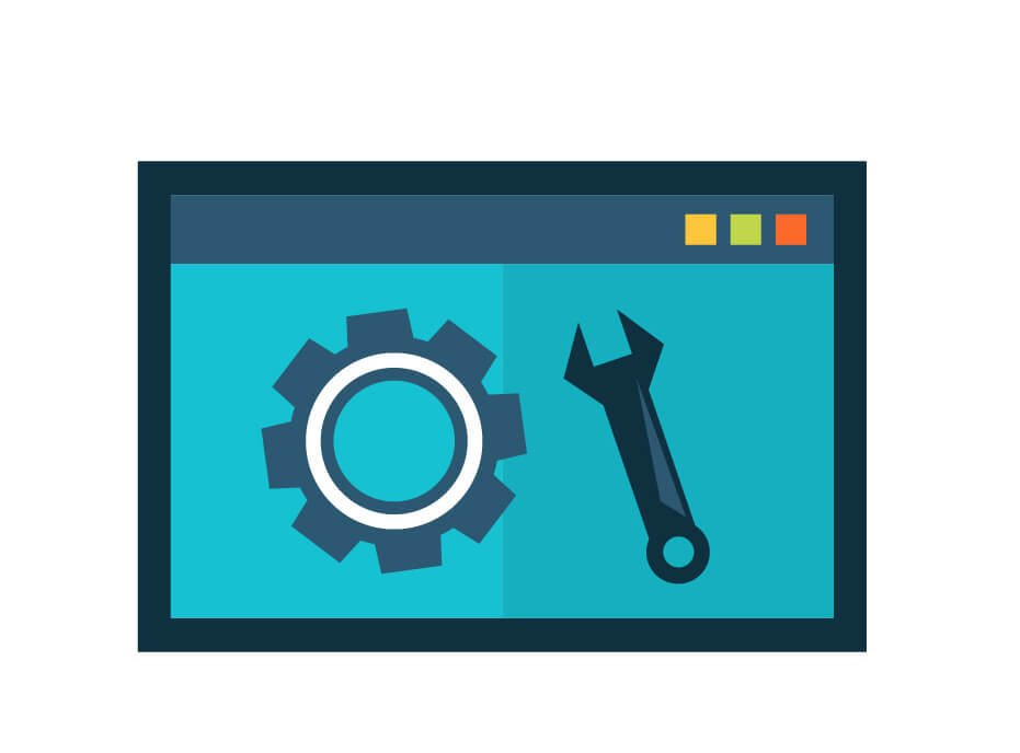 website performance icon vector