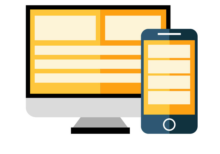 Responsive Website design and development icon