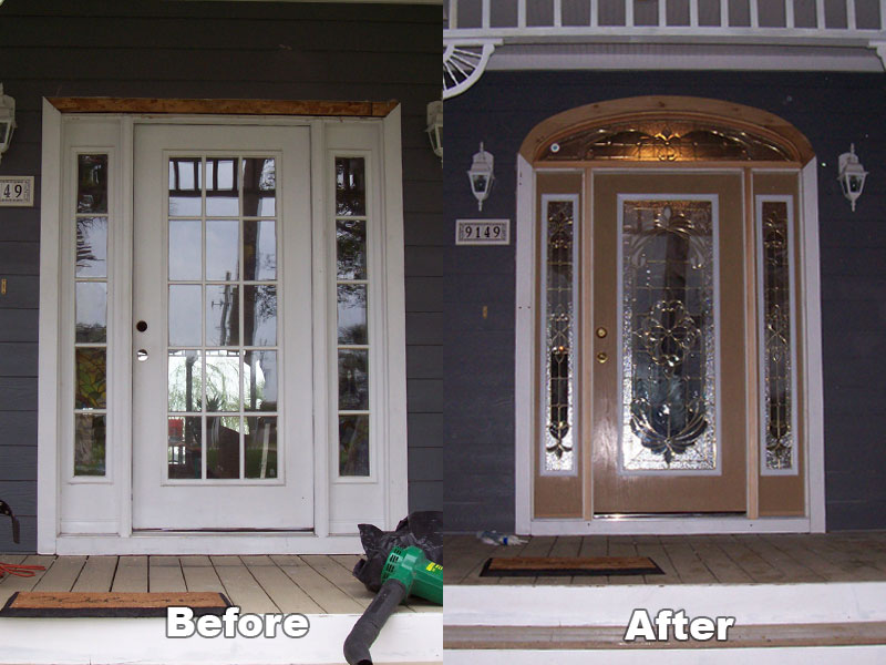 Fogged Glass Entry Doors Business