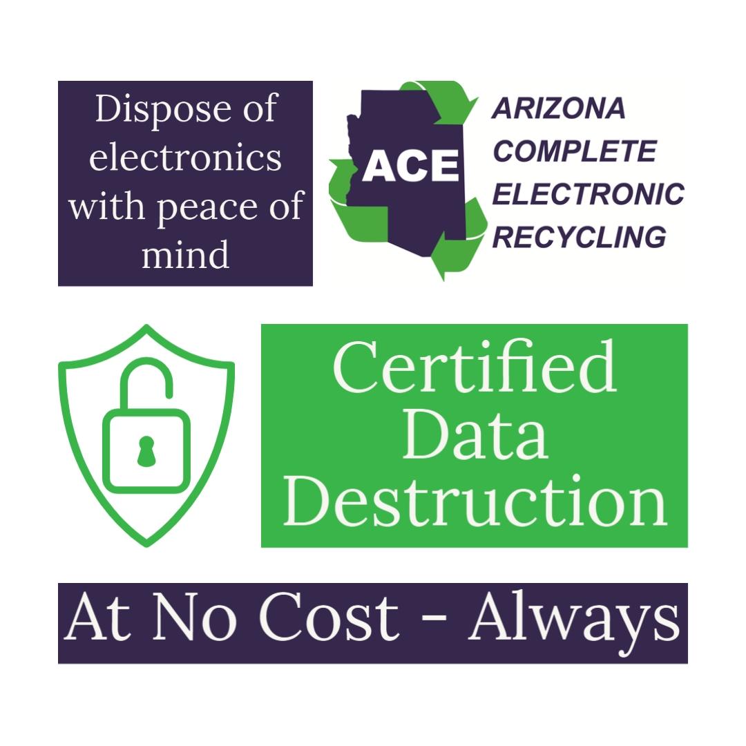 ACE Recycling Certified Data Destruction