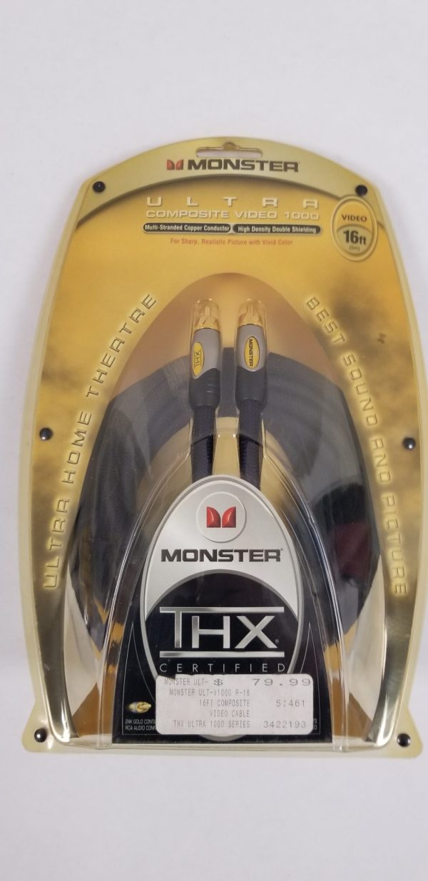 Monster 16 foot Ultra Composite Video 1000 Cable
